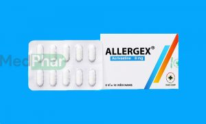 Thuốc chống dị ứng Allergex