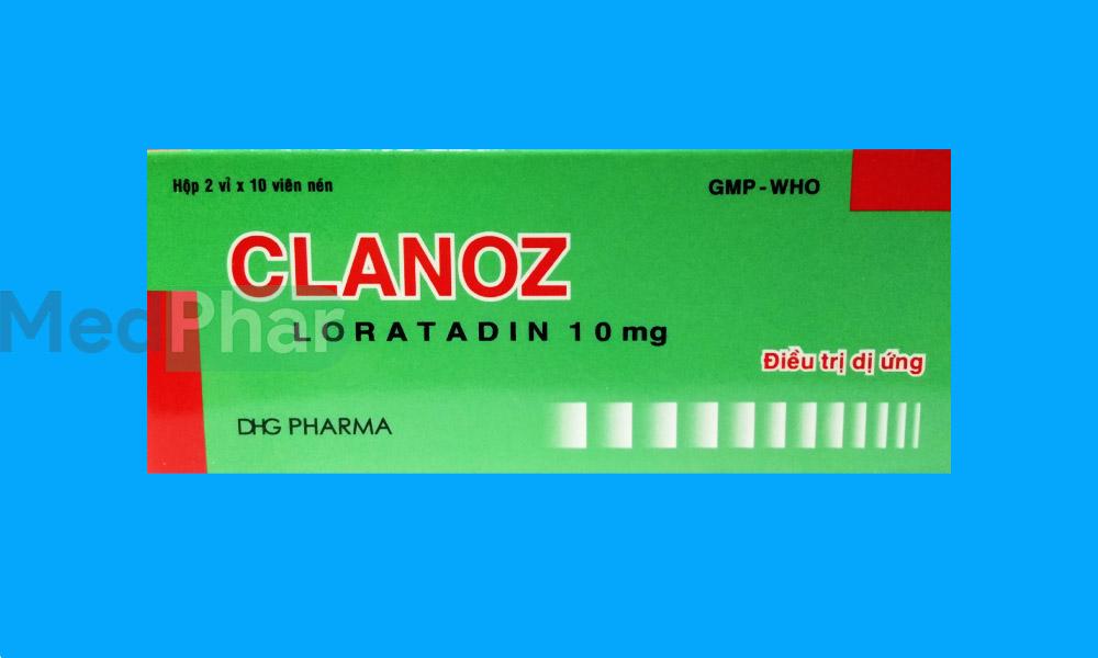 Thuốc Clanoz