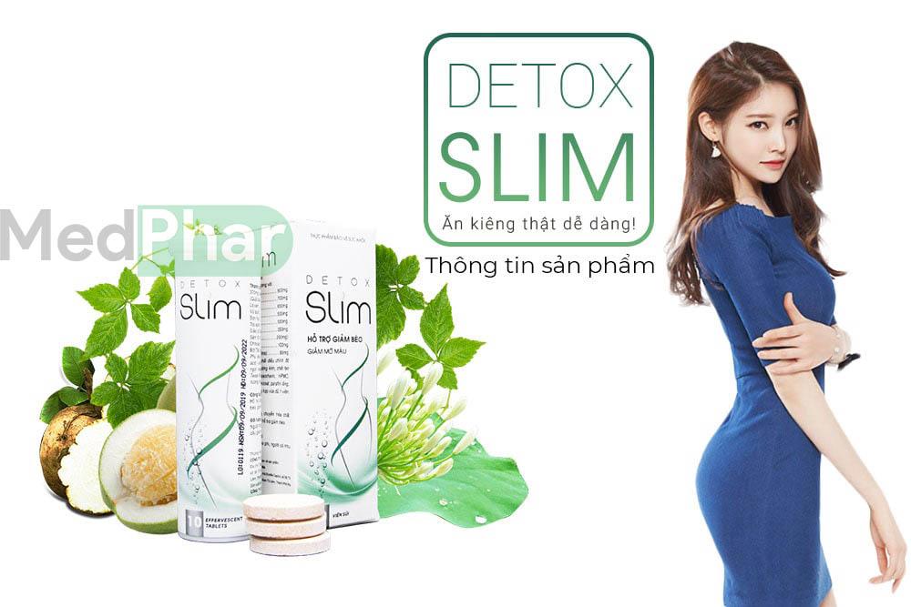 Cùng Nhà thuốc Medphar review sản phẩm Detox Slim