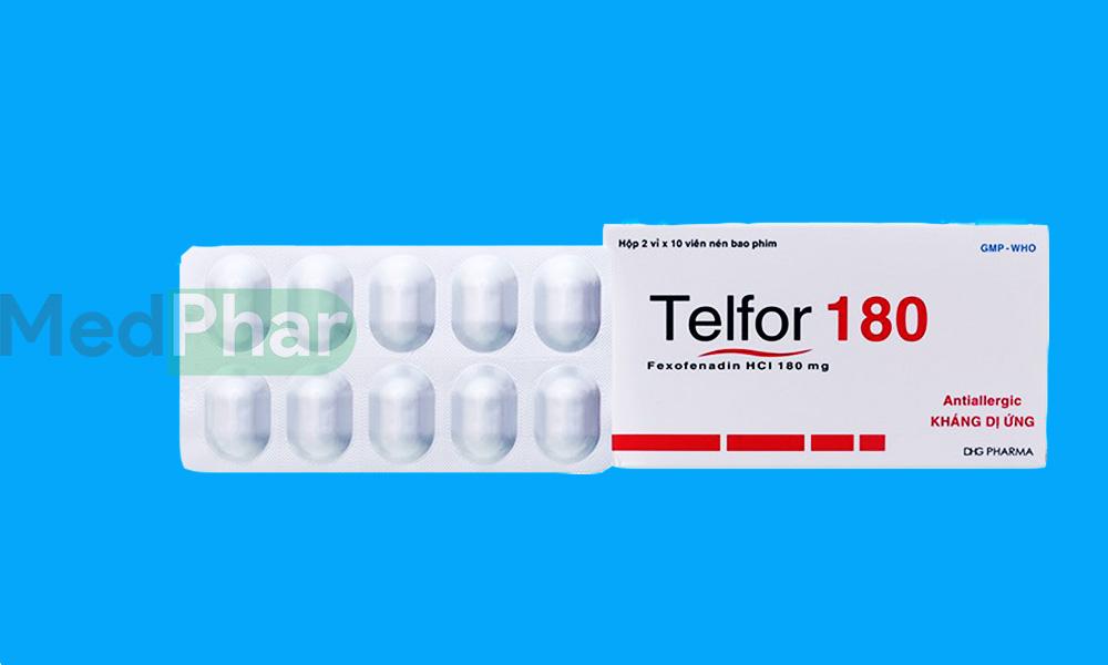 Thuốc Telfor 180