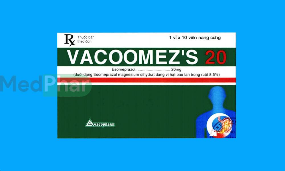 Thuốc Vacoomez S 20 tại Nhà thuốc Medphar