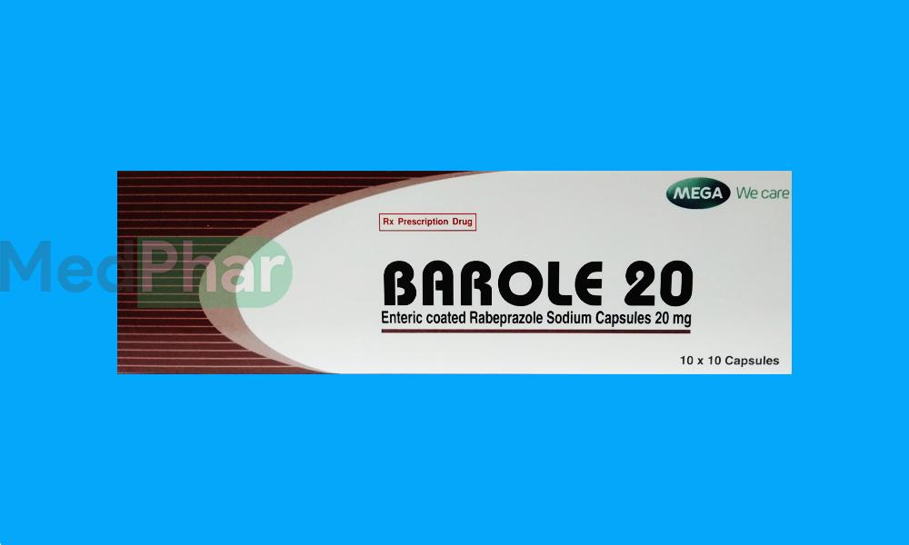 Thuốc Barole 20 tại Nhà thuốc Medphar