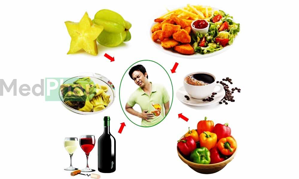 Thực phẩm người đau dạ dày không nên ăn
