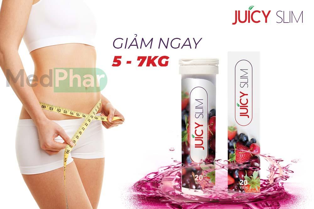 Juicy Slim giúp giảm cân nhanh trong 14 ngày