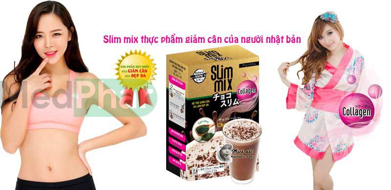 Review sản phẩm giảm cân Slim Mix cùng Nhà thuốc Medphar