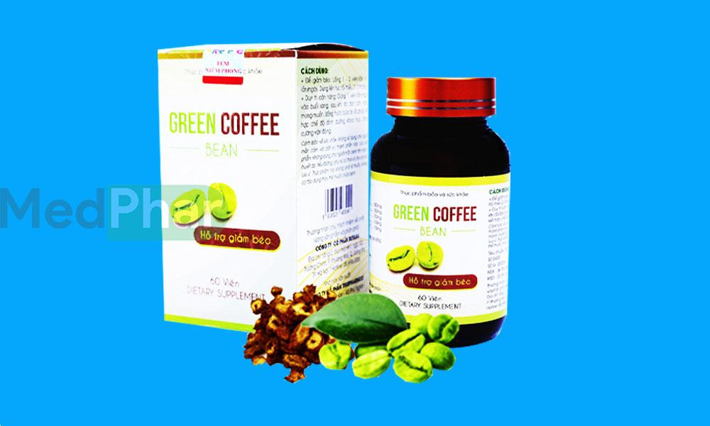 Green Coffee Bean chính hãng tại Nhà thuốc Medphar