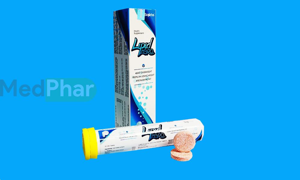 Viên sủi giảm cân Lipid Zero chính hãng tại Nhà thuốc Medphar