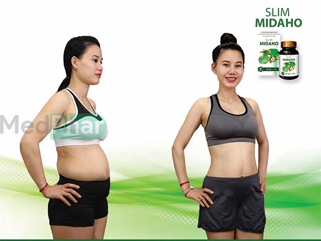 Slim Midaho giúp giảm cân nhanh trong 1 tháng