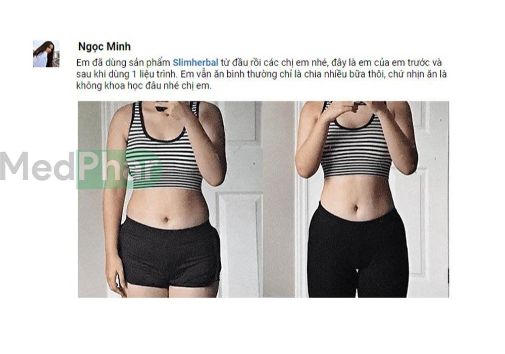 Bạn Ngọc Minh chia sẻ về bí quyết giảm cân của mình