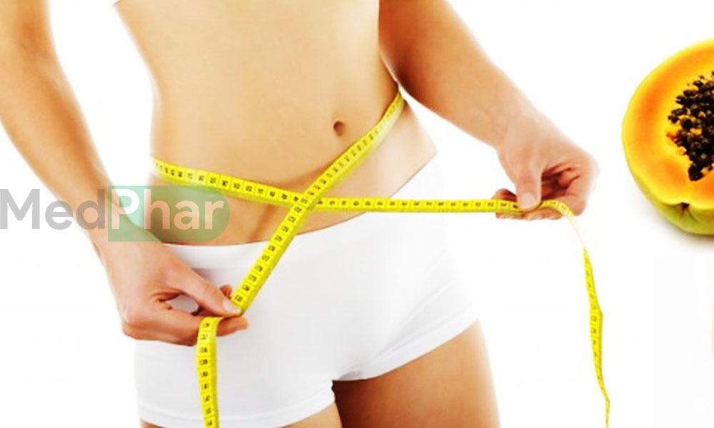 đu đủ giúp giảm cân