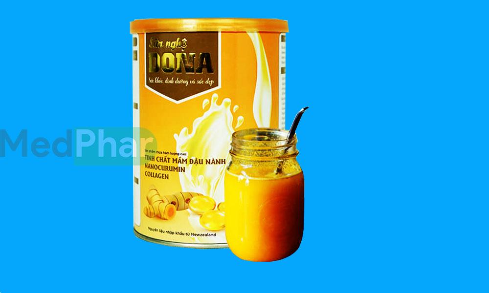 Sữa nghệ Dona chính hãng tại Nhà thuốc Medphar
