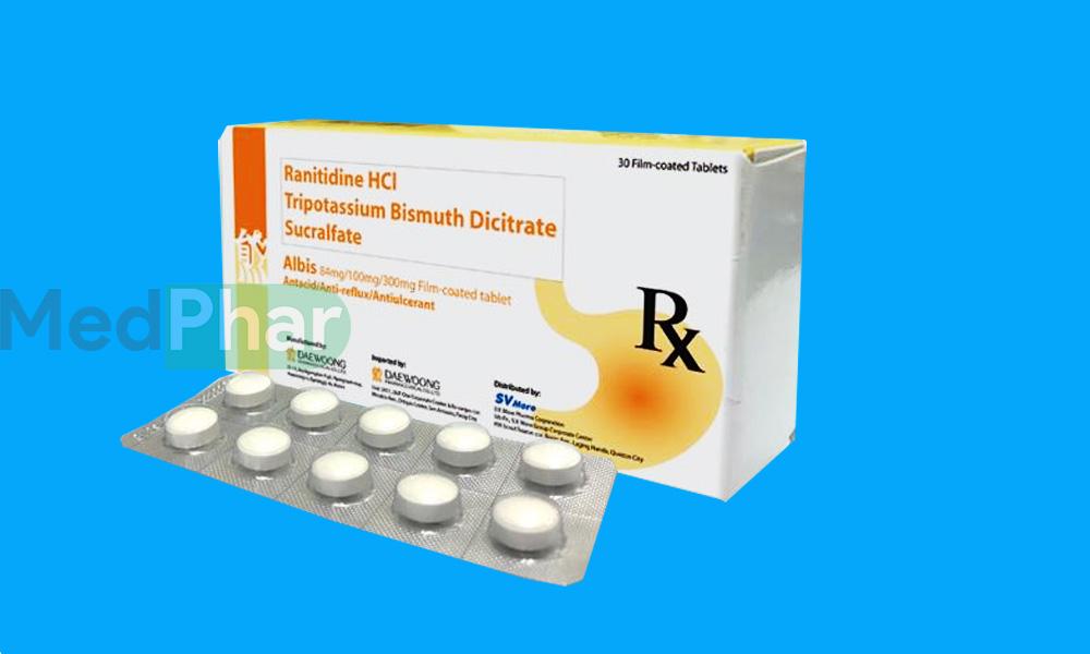 Thuốc dạ dày Albis tại Nhà thuốc Medphar