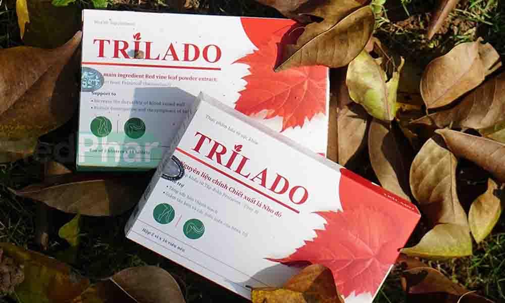 hộp sản phẩm Trilado