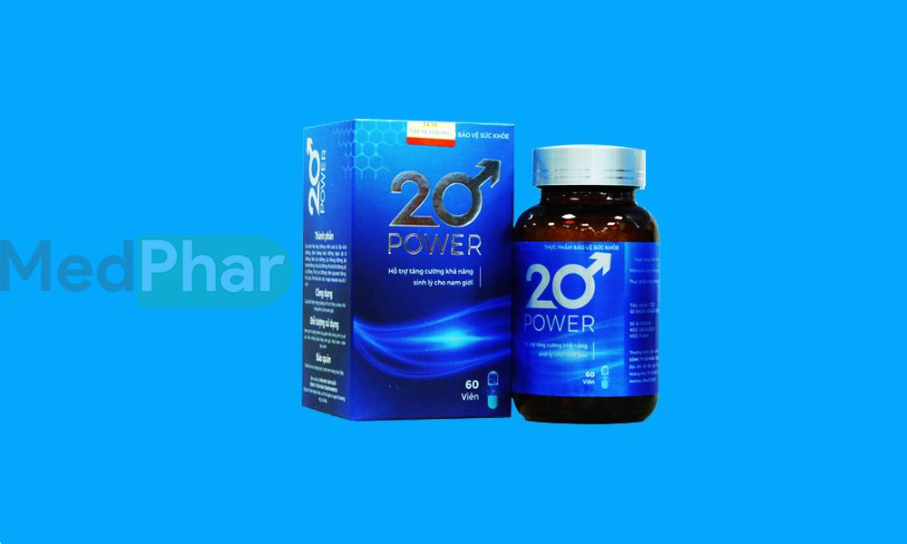 Hình ảnh 20 Power chính hãng tại Nhà thuốc MedPhar