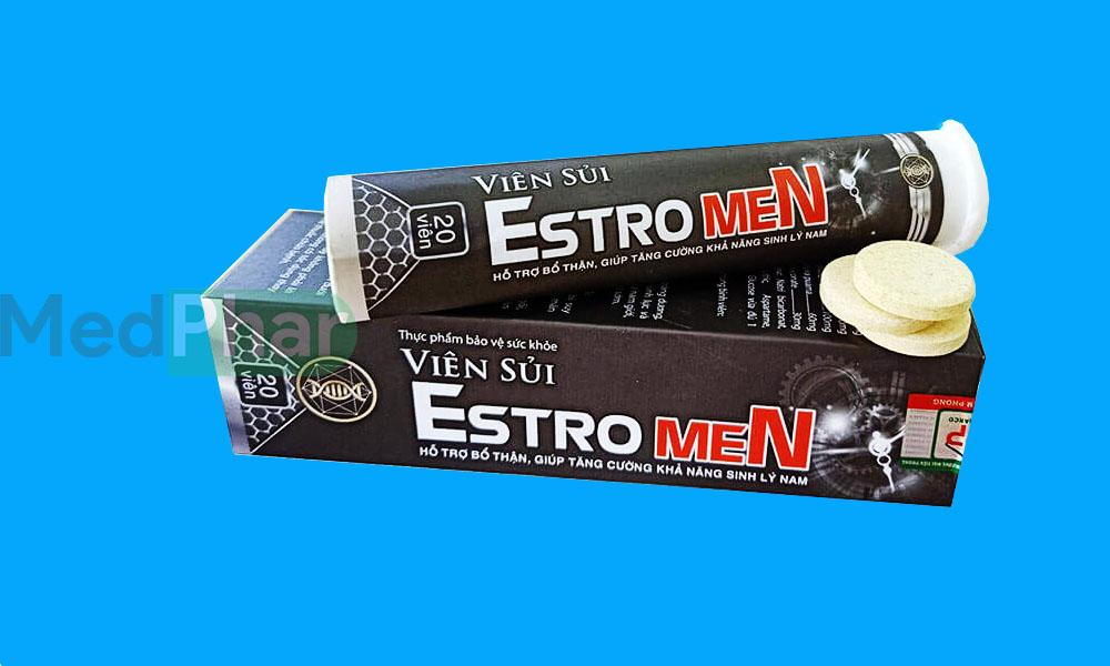 Viên sủi Estro Men chính hãng tại Nhà thuốc MedPhar