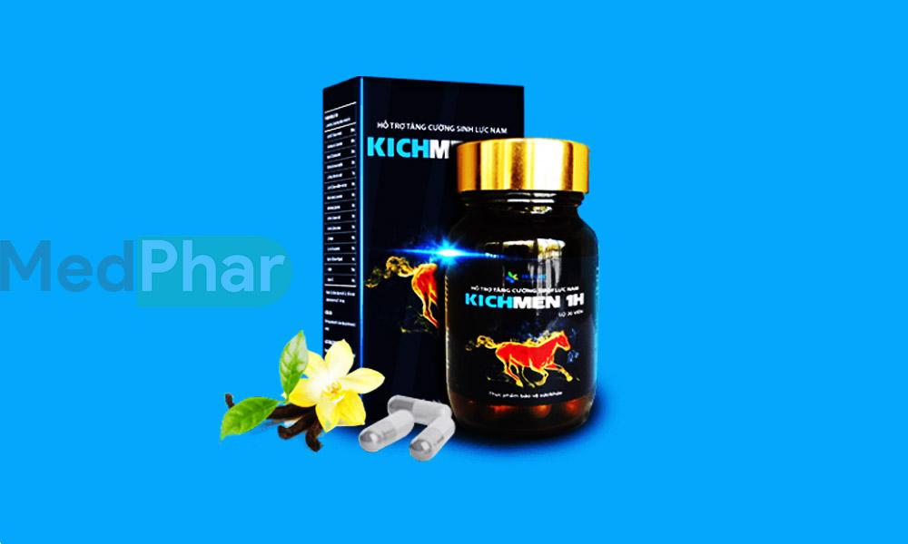 Hình ảnh Kichmen 1h chính hãng tại Nhà thuốc MedPhar