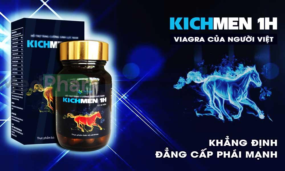 Cùng Nhà thuốc MedPhar tìm hiểu Kichmen 1h