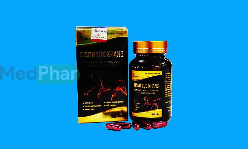 Hình ảnh Mãnh Lực Khang chính hãng tại Nhà thuốc MedPhar