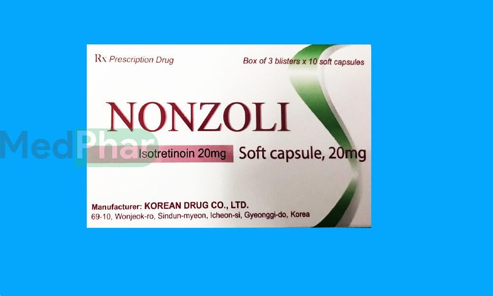 Thuốc Nonzoli 20mg tại Nhà thuốc MedPhar