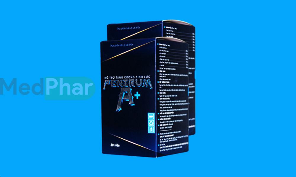 Hình ảnh Penirum A+ chính hãng tại Nhà thuốc MedPhar