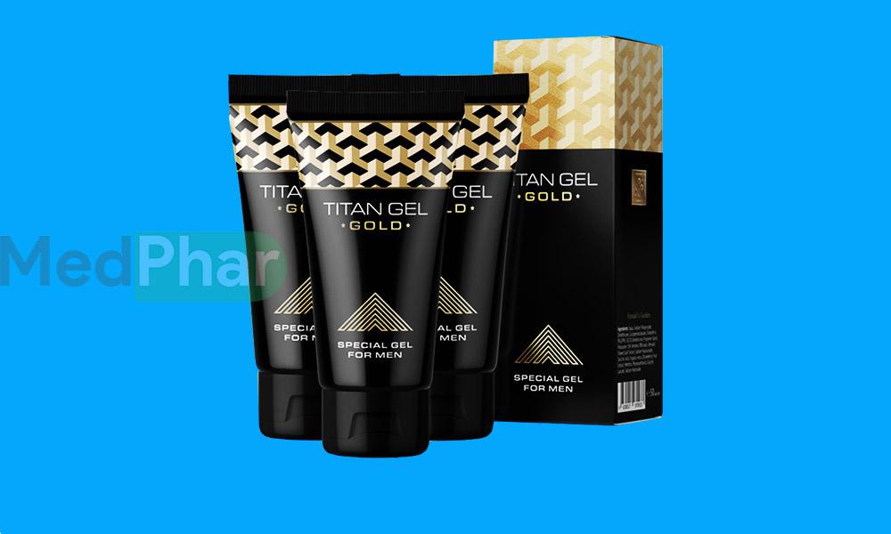 Cùng Nhà thuốc MedPhar review sản phẩm sinh lý Titan Gel Gold