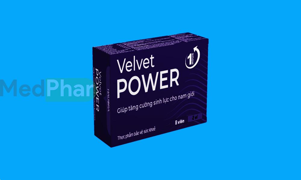 Hình chụp Velvet Power 1 Hour chính hãng tại Nhà thuốc MedPhar