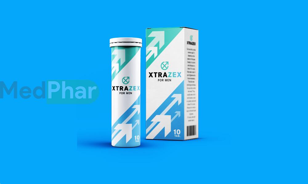 Hình ảnh Xtrazex chính hãng tại Nhà thuốc MedPhar