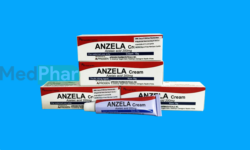 Thuốc Anzela cream