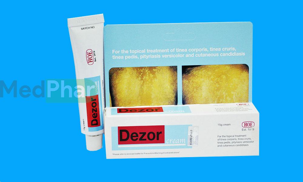Thuốc Dezor Cream