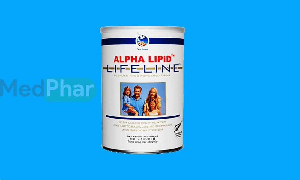 Sữa non Alpha Lipid Lifeline giúp tăng cường miễn dịch chỉ sau 14 ngày sử dụng