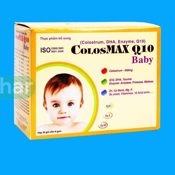 Sữa non Colosmax Q10 Baby tại Nhà thuốc MedPhar