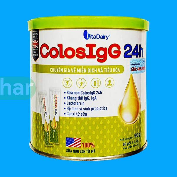 Sữa Non ColosIgG 24h giúp bé tăng cường sức đề kháng, hết ốm vặt chỉ sau 1 tháng
