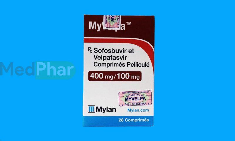 Thuốc bảo vệ gan Myvelpa tại Nhà thuốc Medphar