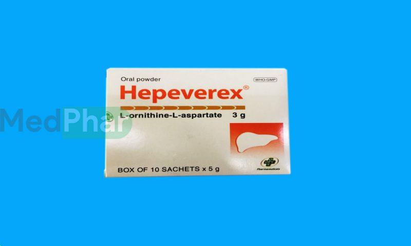 Thuốc bảo vệ gan Hepeverex tại Nhà thuốc Medphar