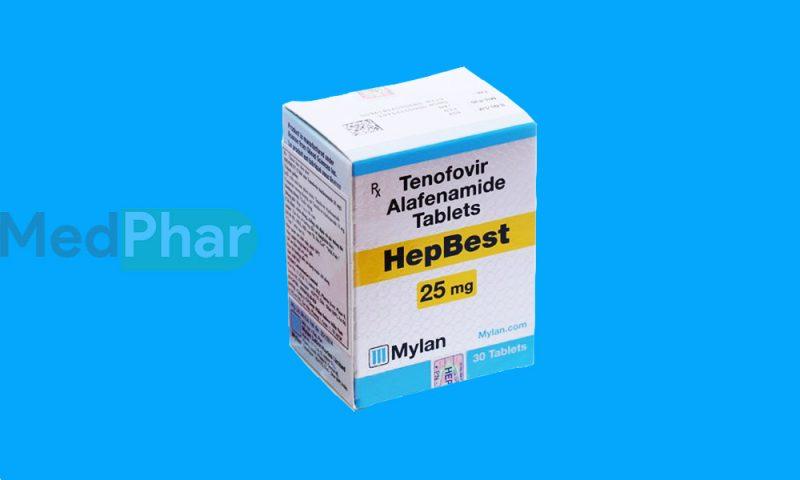 Thuốc bảo vệ gan Hepbest tại Nhà thuốc MedPhar