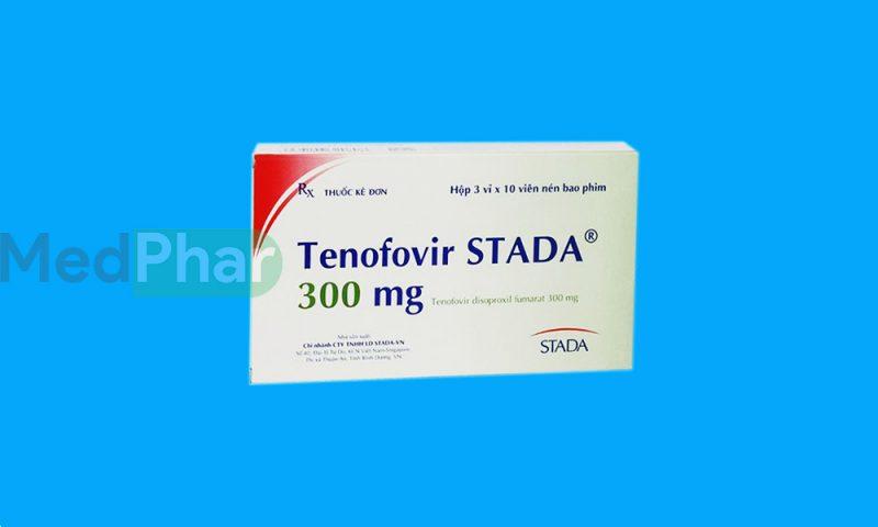 Thuốc bảo vệ gan Tenofovir Stada tại Nhà thuốc MedPhar