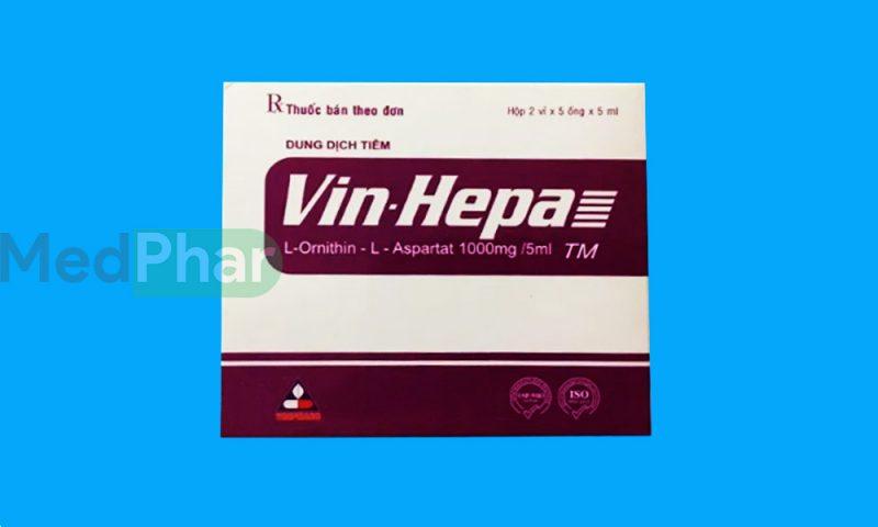 Thuốc bảo vệ gan Vin- Hepa tại Nhà thuốc Medphar