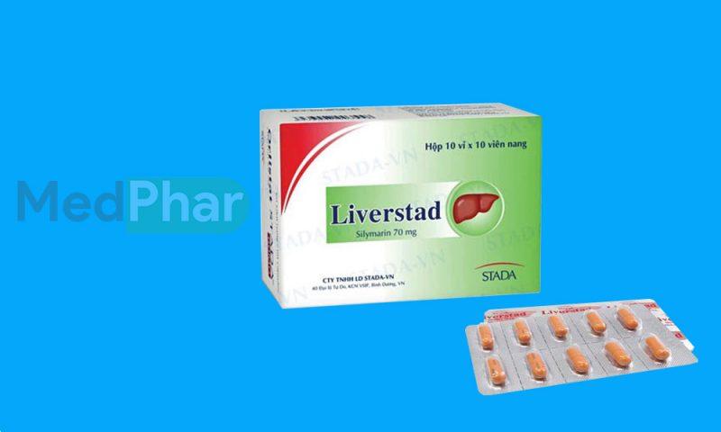 Thuốc bảo vệ gan Liverstad tại Nhà thuốc Medphar