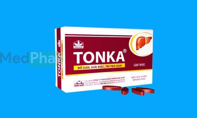 Thuốc bảo vệ gan Tonka tại Nhà thuốc Medphar