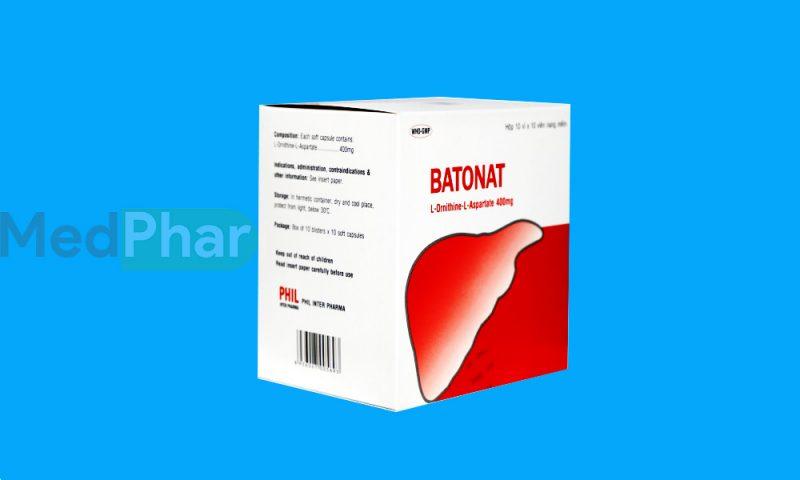 Thuốc bảo vệ gan Batonat tại Nhà thuốc Medphar