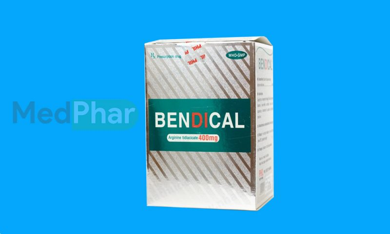 Thuốc bảo vệ gan Bendical tại Nhà thuốc Medphar