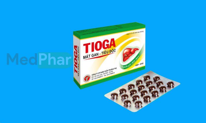 Thuốc bảo vệ gan Tioga tại Nhà thuốc Medphar
