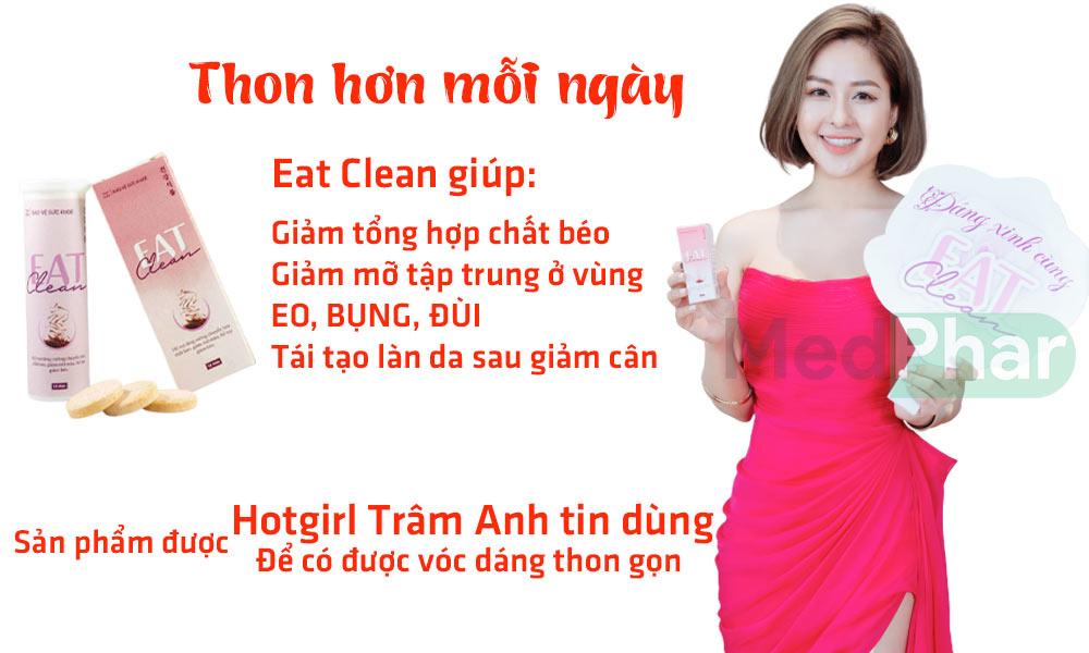 Eat Clean được hotgirrl Trâm An tin dùng để có được vóc dàng ton gọn