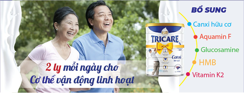 Cách dùng sữa milk tricare