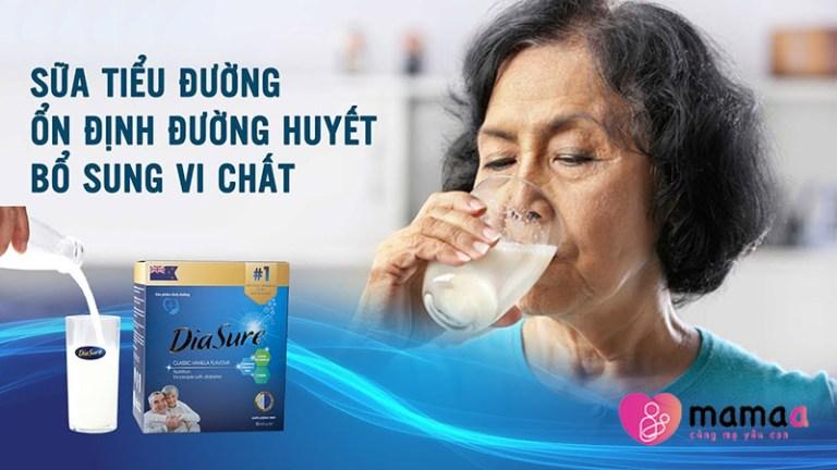 sữa non tiểu đường diasure có tốt không