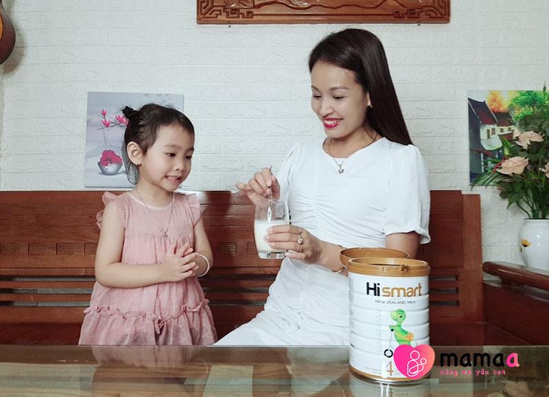 Cách dùng sữa Hismart
