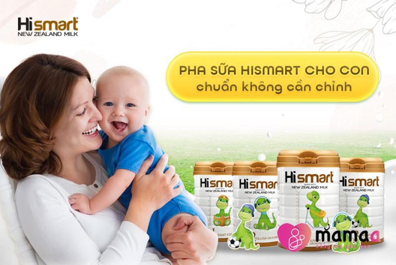 Phân loại sữa Hismart